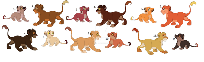 Some more Cub Adopts (GONE) by Claire-Cooper