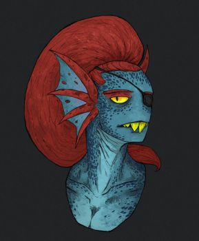 Undyne by iracat