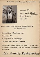 Case Files: Francis by theTieDyeCloak