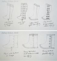 Spats and Gaiters Concepts by sidneyeileen