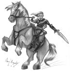 Link and Epona by Daviskingdom
