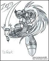 Zero from Megaman X by sutekihime