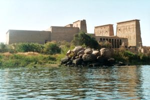 philae's temple by jolog