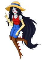 Marceline the Vampire Queen by Gold-Cadet