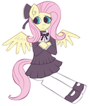 Gothic lolita Flutters by Noah-Nyan