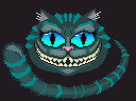 Dailies Day 76 - Cheshire Cat by KaoticOblivion