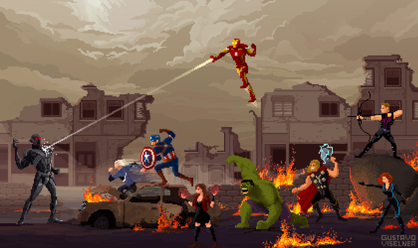 Avengers: Age of Ultron by gviselner