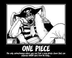 One Piece Buggy Motivational by Persian13