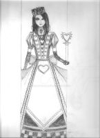 Alice's Deck of Cards: The Queen Of Hearts 1 by Soran-san