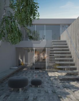 Minimal Exterior Final Image by Guillefrey