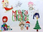 MERRY CHRISTMAS! From Fairy Tail- 2014 by JuviaLockser17
