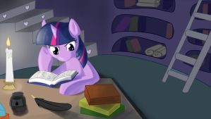 Late night study by Whatsapokemon