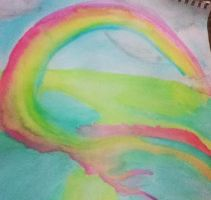 Rainbow Watercolor by sonic8chilidog
