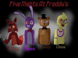 Five Nights at Freddy's by Veronica-Draws