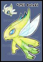 Pokemon: Celebi 2012 by AirRaiser