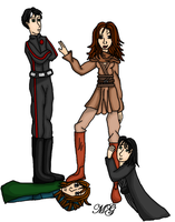 The Consorts of Jaina Solo by Madame-Solo
