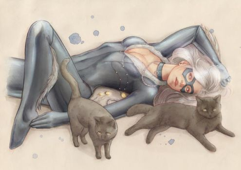 Black Cat by cocoaspen