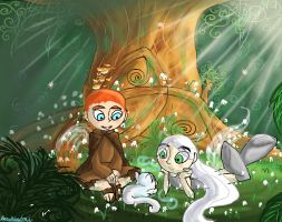 The Secret of Kells by HezuNeutral
