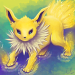 Jolteon by shiropanda