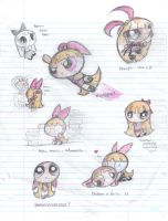 Blossom Doodly page by Candy-Gal75