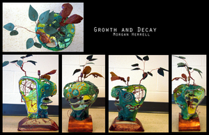 Growth in Decay by miirgan