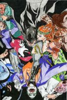 Batman v.s. Villians by carpediem101