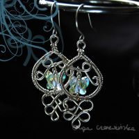 Butterfly earrings by OlgaC