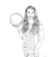 Just a Bowling (drawing) by Olivier-C