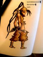 Ibuki on the scene by suicidalassassin