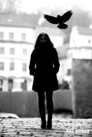 The Raven Girl by NXcamera