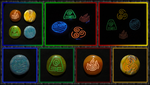 Avatar Stones - Glow in the Dark by ChimeraDragonfang