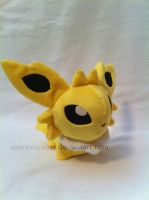 Jolteon pokedoll by SpaceVoyager