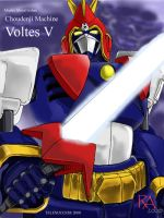 borutesu faibu (Voltes Five) by chichiboy