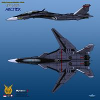 IFX-25 Archer - 2 View TNI-AU by haryopanji