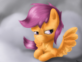 scootaloo by Agussska