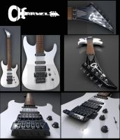 Charvel Guitar - Criss Oliva - by Batatalion