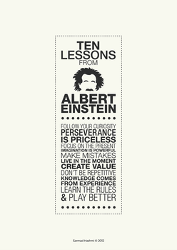 10 Lessons From Einstein by kr8v