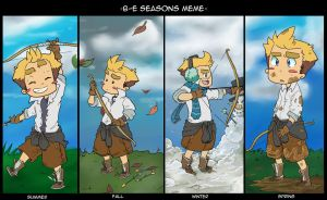 BE: Archer Through The Seasons by conmandamned