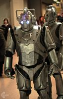 Doctor Who Cyberman cosplay by Ozone-O3