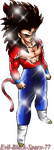 Redit SSJ 4 by Evil-Black-Sparx-77