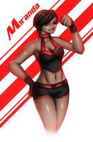 OC Character Request: Miranda by x2gon