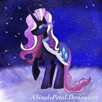 .: Nightmare Rarity with Black Magic :. by ASinglePetal