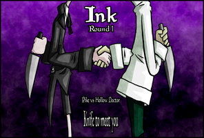 Ink OCT Round 1 Cover by RubyRedux