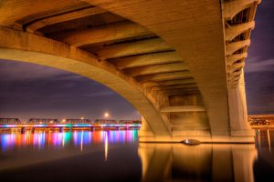 Tempe Town Lake HDR by knold