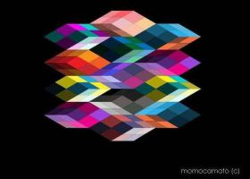 Cube Illusion by momocmto
