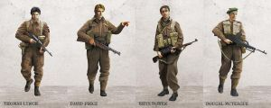 Commando: Operation Arrowhead - characters by anderpeich