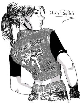 Claire Redfield by carljohnson1231