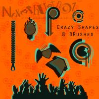 Crazy Shapes Brushes by neverhurtno1