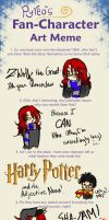 HP - Fan Character Meme by LadyZolstice