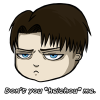 Don't You Heichou Me by DarkMuse112